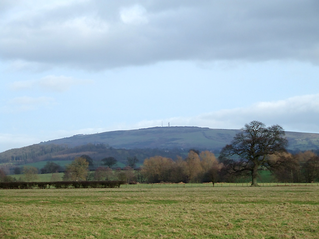 Brown Clee Hill from near Lawton, Shropshire