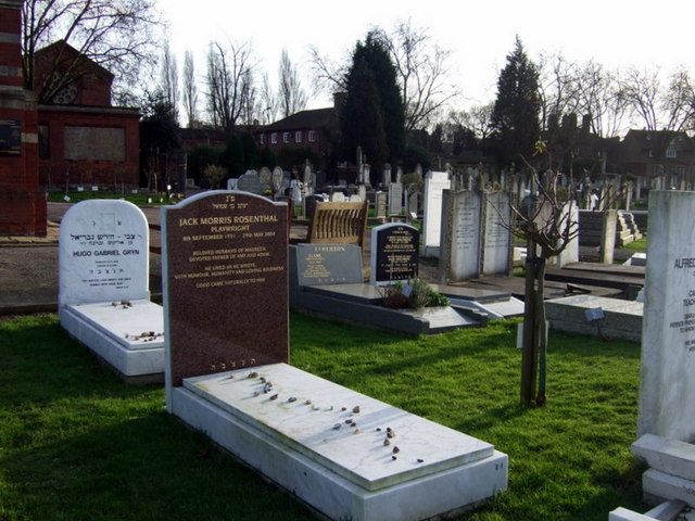 Graves in Jewish Cemetery
