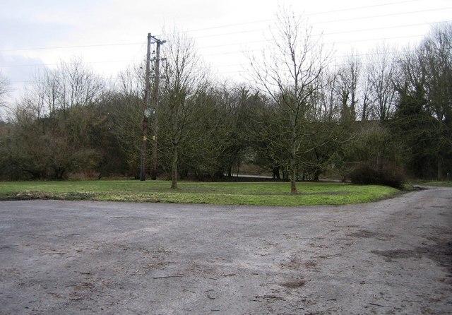 Basing House car park