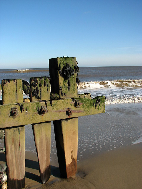 Walcott beach with North Sea view