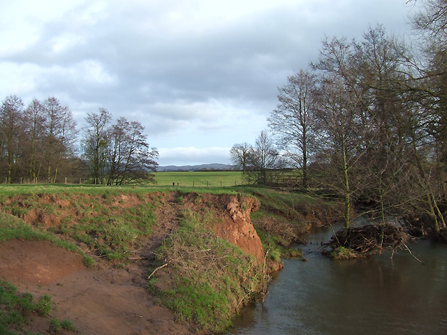 River Corve near Lawton, Shropshire