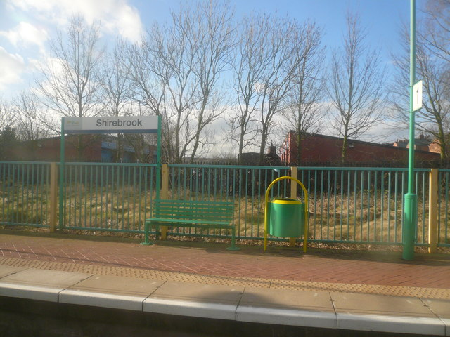 Shirebrook Station Platform View