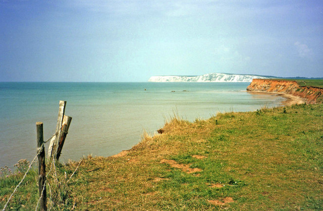 Cliff top above Brook Bay, Isle of Wight