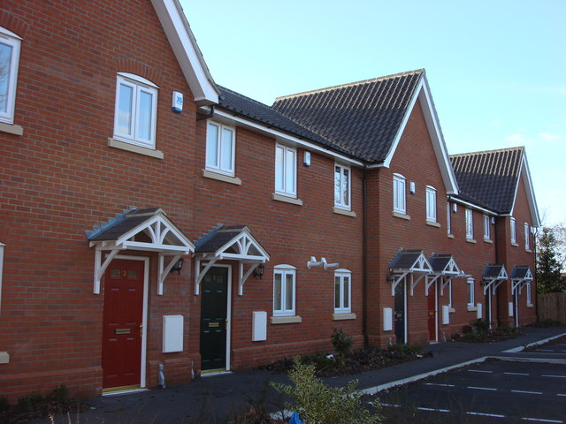 New terraced housing, Mount View