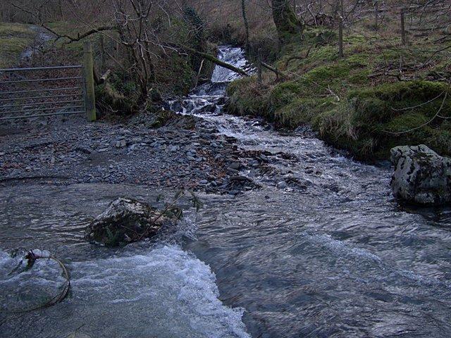 Ford through Afon Hengwm