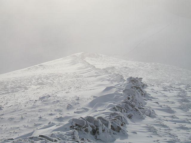Southwest ridge, Carn Fiachlach