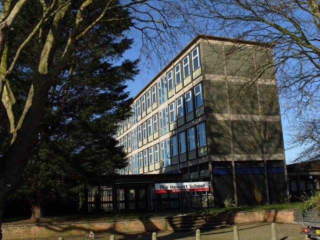 The Hewett School, Hall Road, Norwich