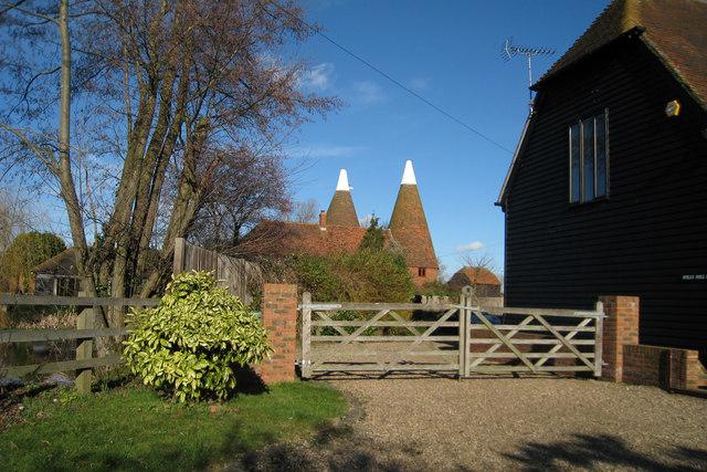 Spills Hill Farm Oast, Chickenden Lane, Staplehurst, Kent