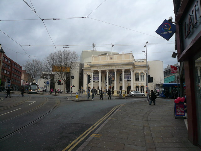 Nottingham - Theatre Royal View