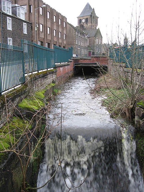 The mill lade in Paton Street