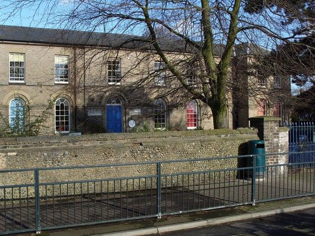 Anguish's Hospital (recently Lakenham First School)