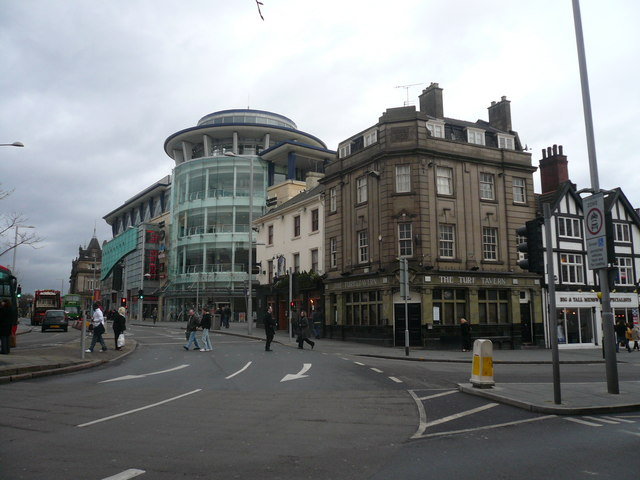 Nottingham - The Corner House and The Turf Tavern