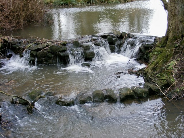 Waterfall in a Stream