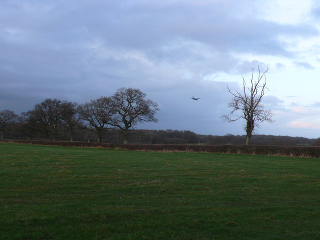 Low flying practice in the Blackmoor Vale