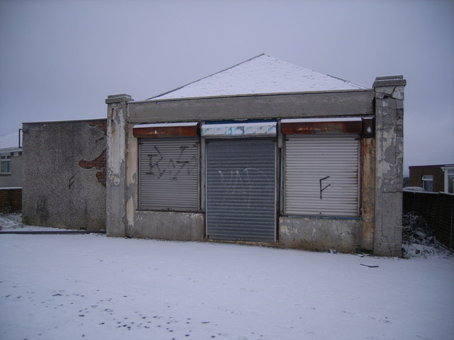 Disused shop in Blackwood