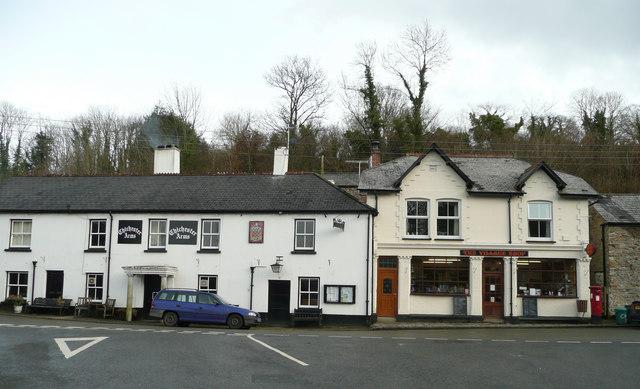 Village pub and shop
