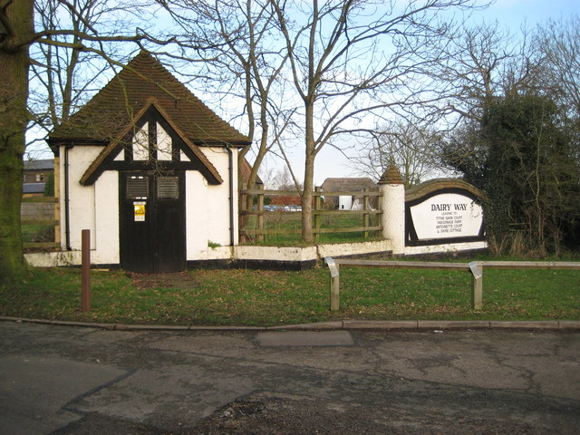 Abbots Langley: Dairy Way electricity sub-station