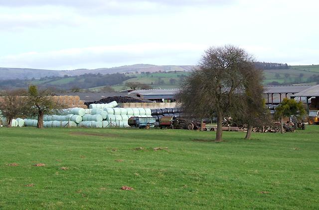 Farm at Lawton, Shropshire