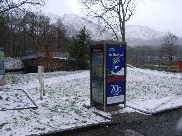 St. Fillans Telephone Kiosk