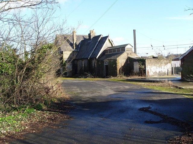 Trowse Railway Station, Norwich (derelict)