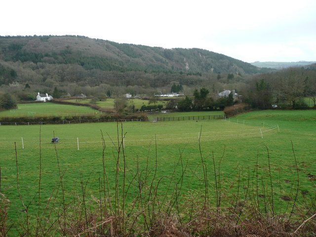 The Tamar Valley, south of Gunnislake
