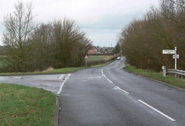 North along Croft Road