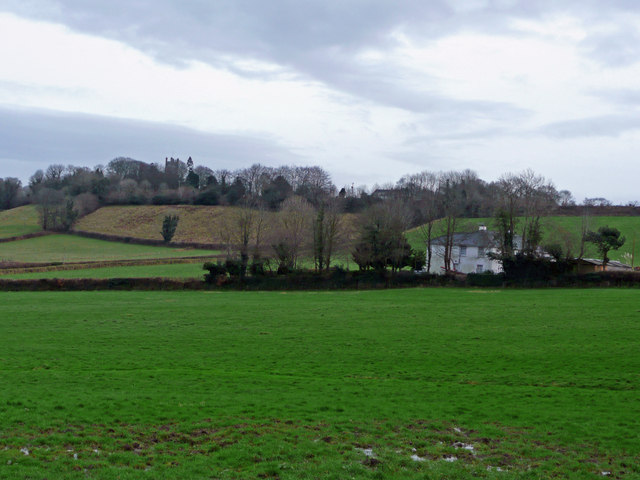 Northpark House and Calstock church