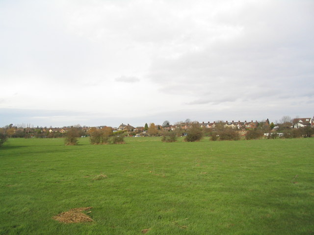 Flood plain of the Soar