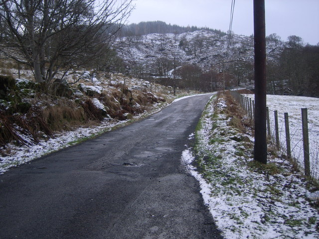 A snowy spring day