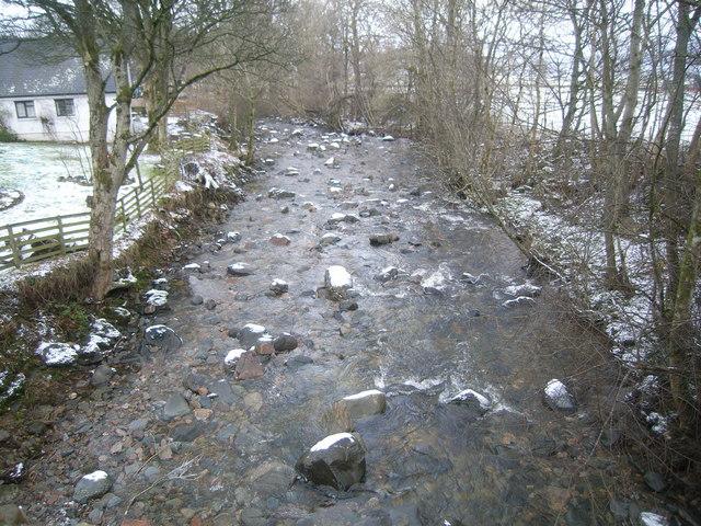 Looking downstream at Ardeonaig