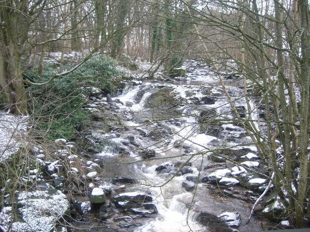 Looking upstream at Ardeonaig