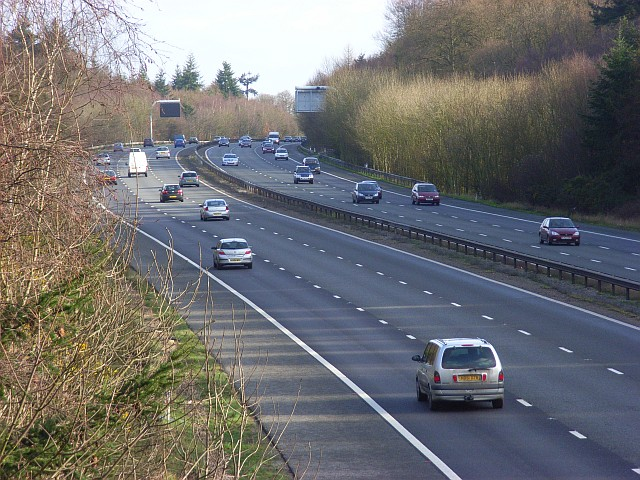 The M4, Bradfield