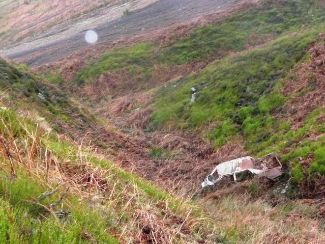 The Cwm Sychan scrapyard