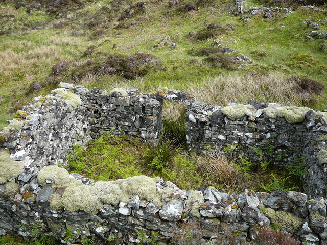 Part of the Ruined Croft at Pollantobair
