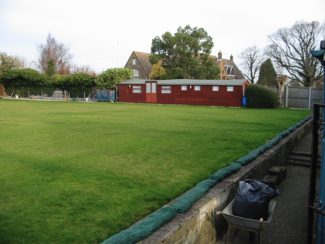 The bowling green at Eastry