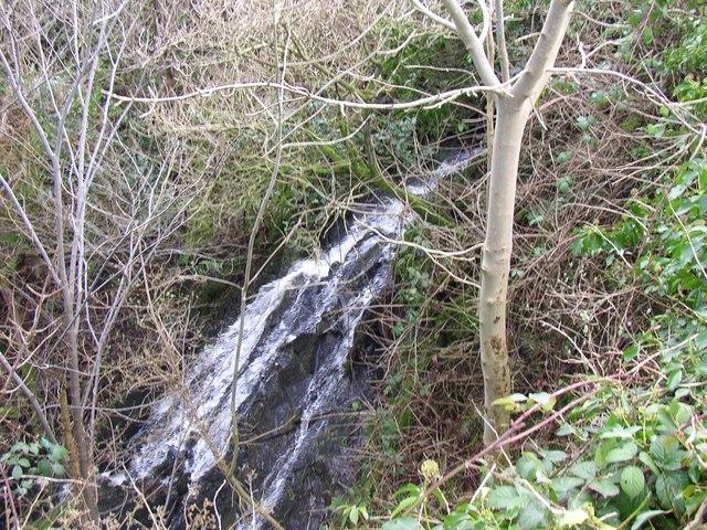 Waterfall near Hawpike Farm, Draughton