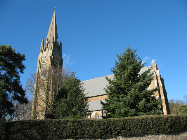 St John the Evangelist Church - south side