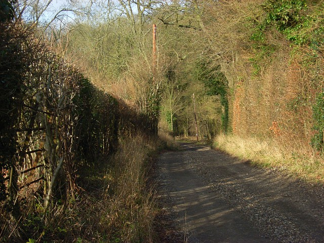 A byway, Bradfield