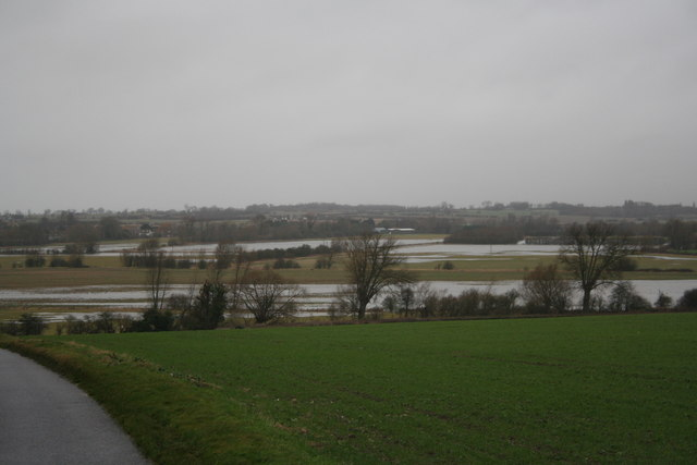 View of Flooded Fields