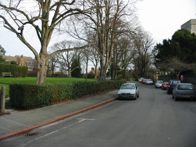 View along Church Street, Eastry