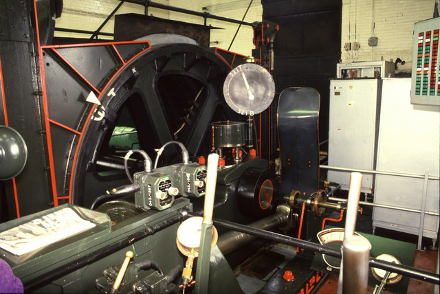 Linby Colliery - upcast shaft steam winding engine