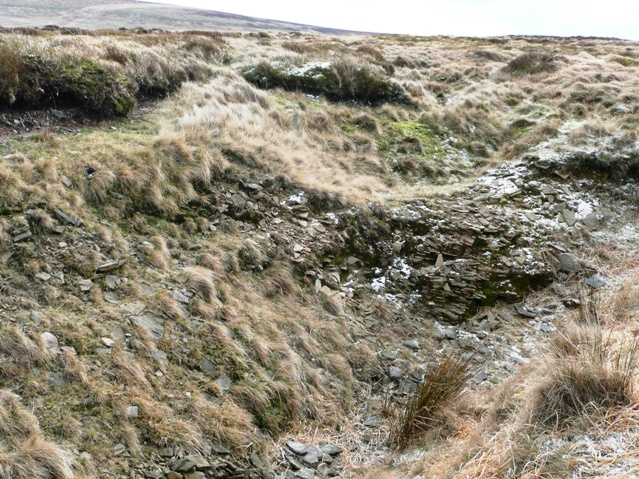 Gulley on the moor