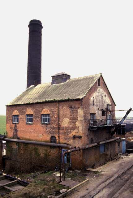 Bentinck Colliery winding engine house.