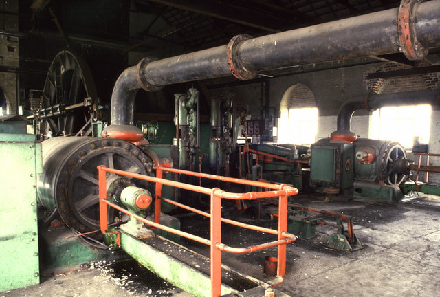 Bentinck Colliery steam winding engine