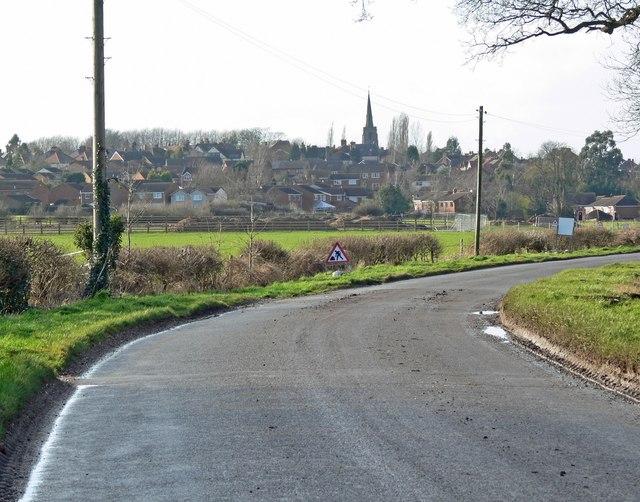 View towards Earl Shilton