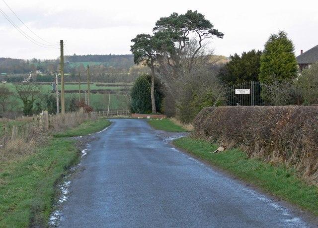 North along Earl Shilton Road