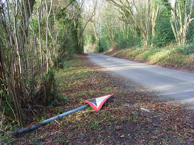Road below Quick's Green