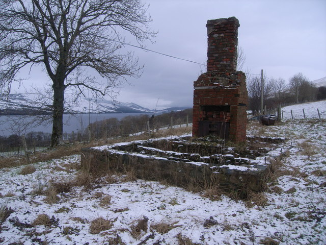 The remains of a croft