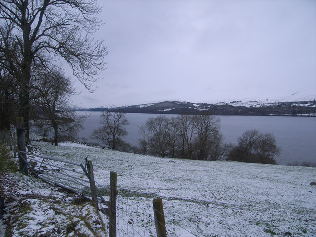 Across Loch Tay