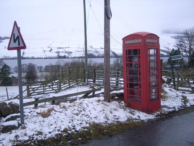 Ardtalnaig Telephone Kiosk